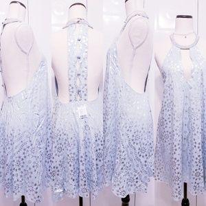 Women's halter style dress
